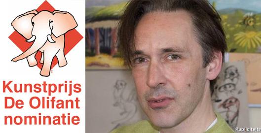 StriptekenaarNL-StefandeGroot-KunstprijsOlifantNominatie2016